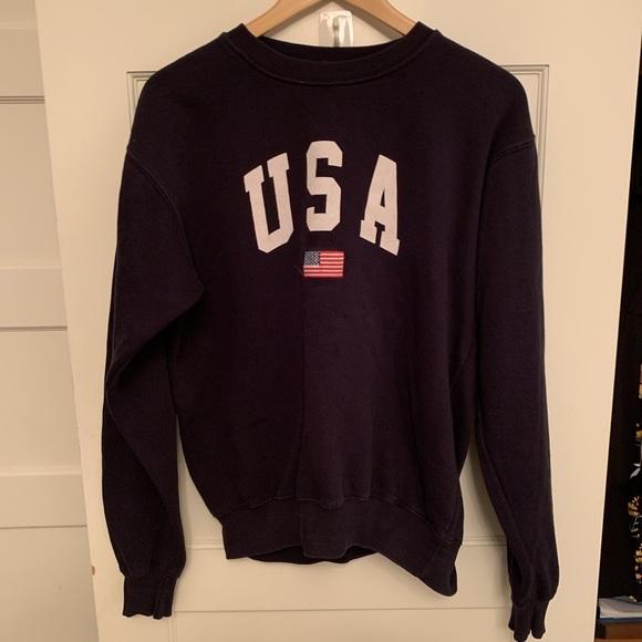 Brandy Melville Sweaters - Brandy Melville/John Galt USA sweatshirt one size